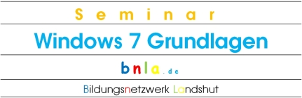 Windows 7 Grundlagen